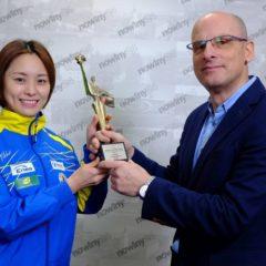 Li Qian Sportowcem Roku plebiscytu Nowin