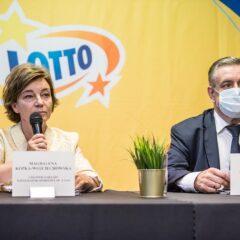 Totalizator Sportowy partnerem mistrza Europy w tenisie stołowym